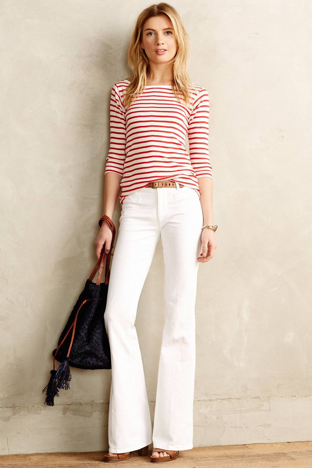 MiH Casablanca Petite Flared Jeans. Anthropologie. $99.