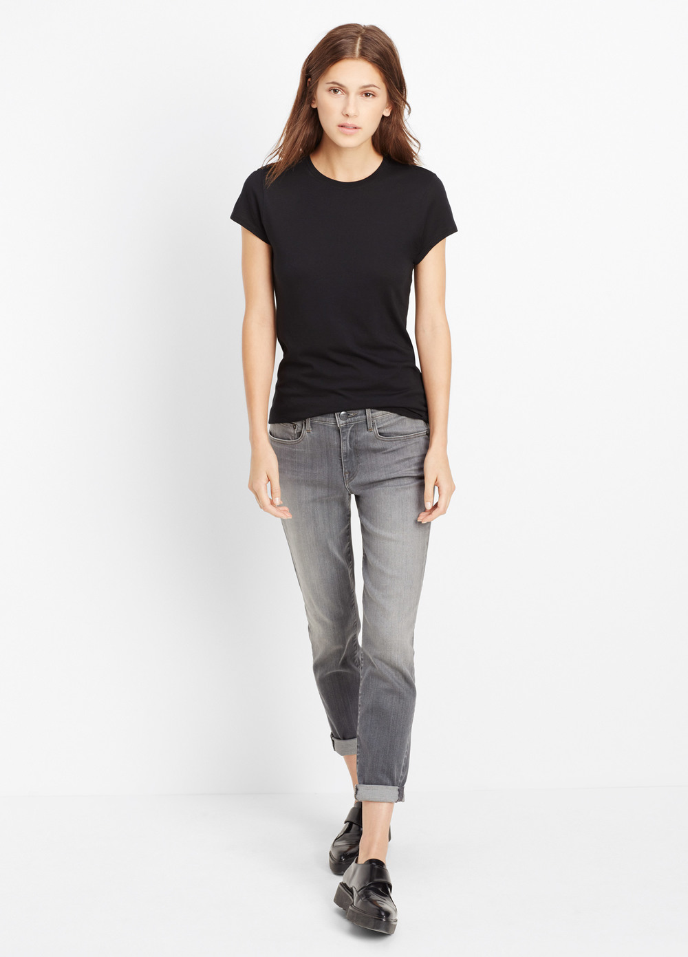 Vince Mason Relaxed Rolled Denim. Vince. $220.