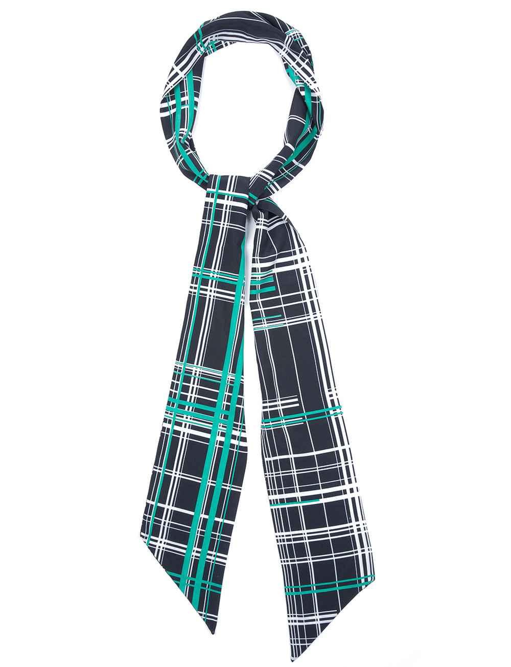 Skinny Tie Scarf. Available in multiple prints. ELOQUII. $19. Additional 30% off with code: YOU.