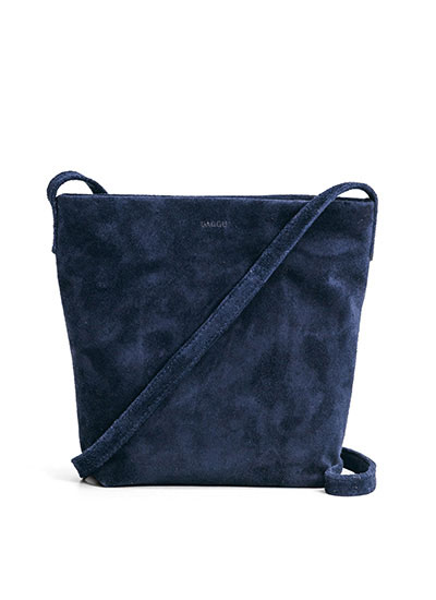 Cross Body Purse in Midnight Suede. Baggu. $120.00.