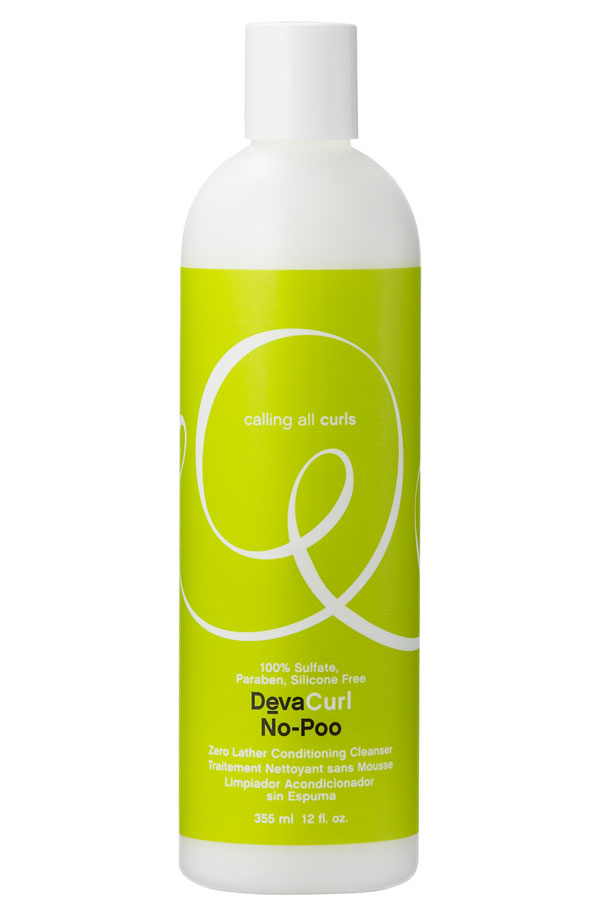 DevaCurl No-Poo Lather Conditioning Cleanser. Nordstrom. 3 ounces for $8.95. Also available at  Vain .