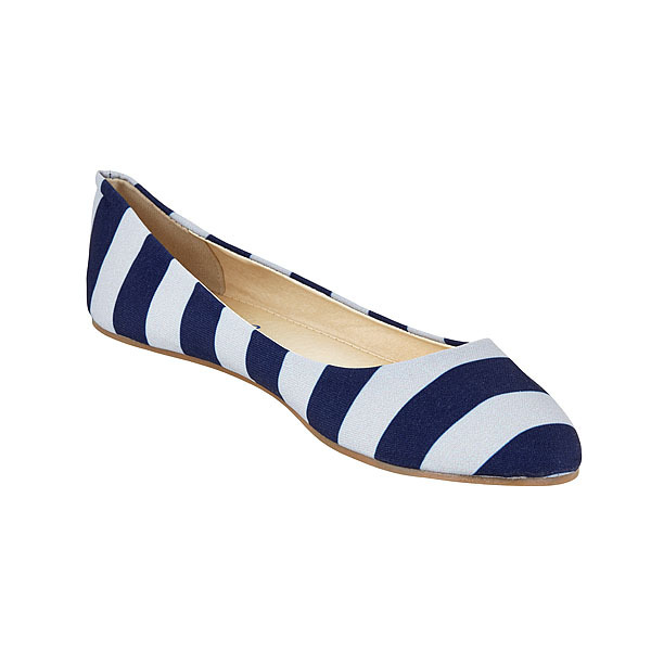 Game Day Flats. Available in multiple color combinations. These are blue/grey. Lilly Bee. $58.