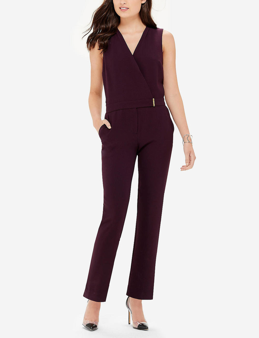 Tall Wrap Front Jumpsuit. The Limited. Was: $119 Now: $47.