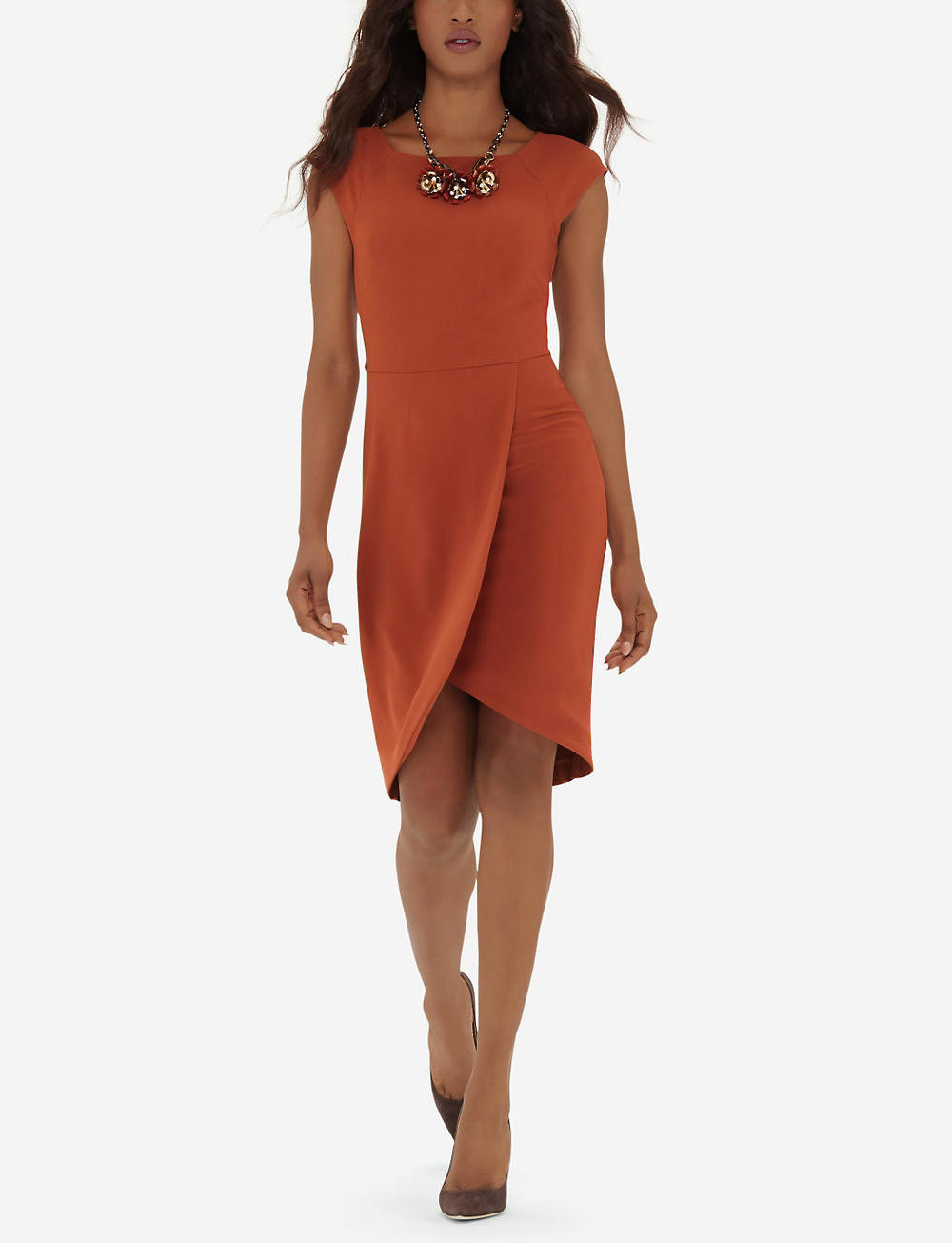 Tall Tulip Skirt Sheath Dress. The Limited. Was: $109 Now: $76.