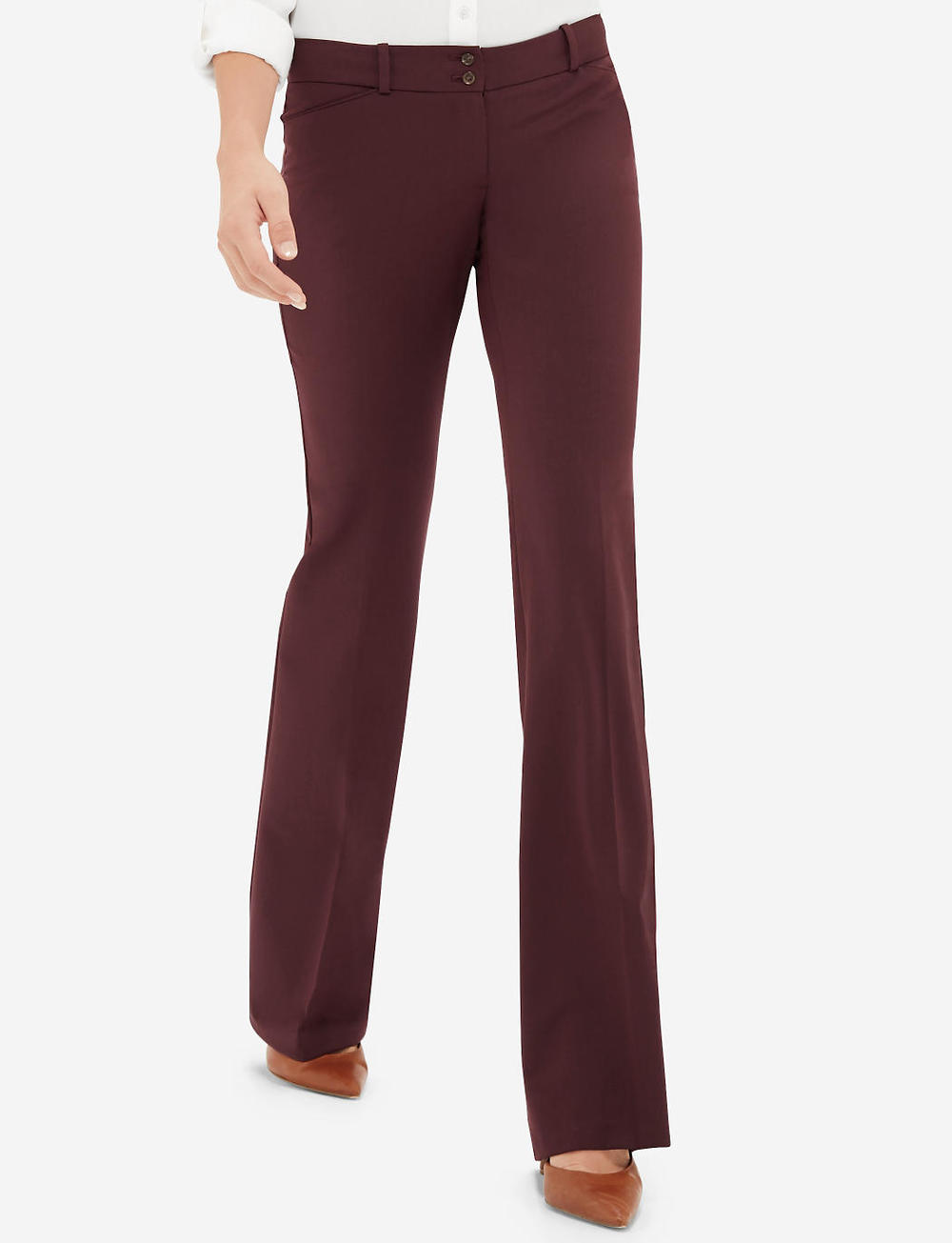 Tall Drew Classic Flare Pants. Available in multiple colors.The Limited. Was: $79 Now: $55.