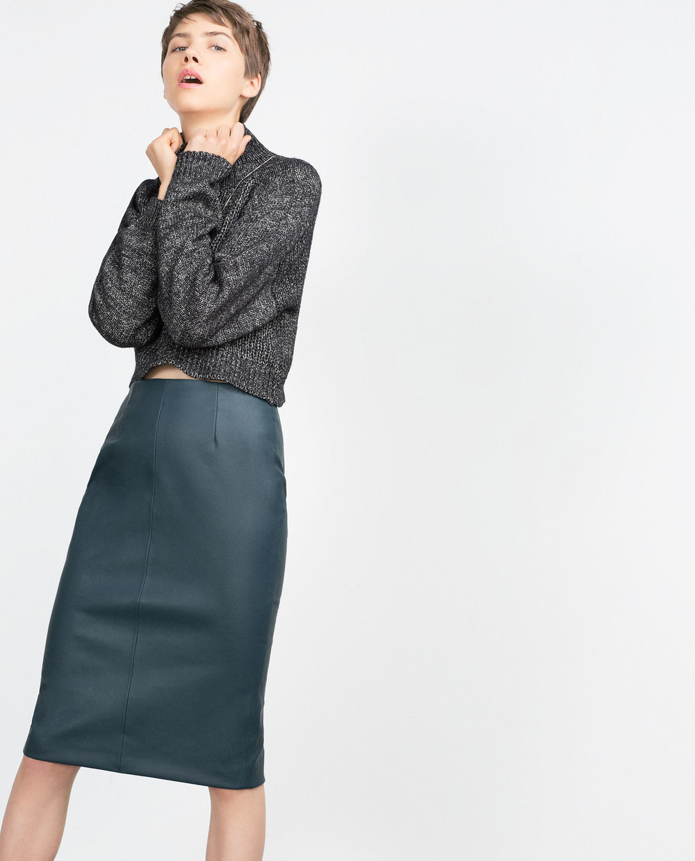 Tube Skirt. Available in additional colors. Zara. $39.