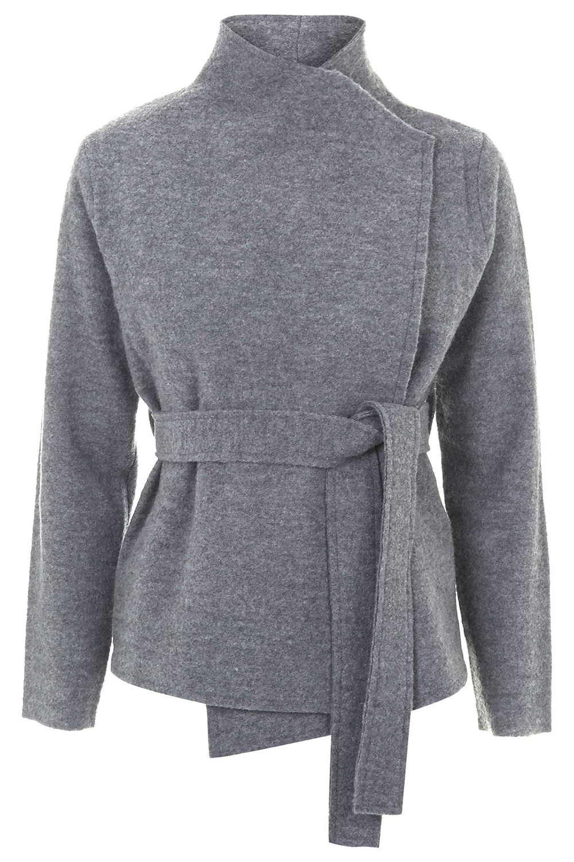 Premium Boiled Wool Jacket. Topshop. $160.