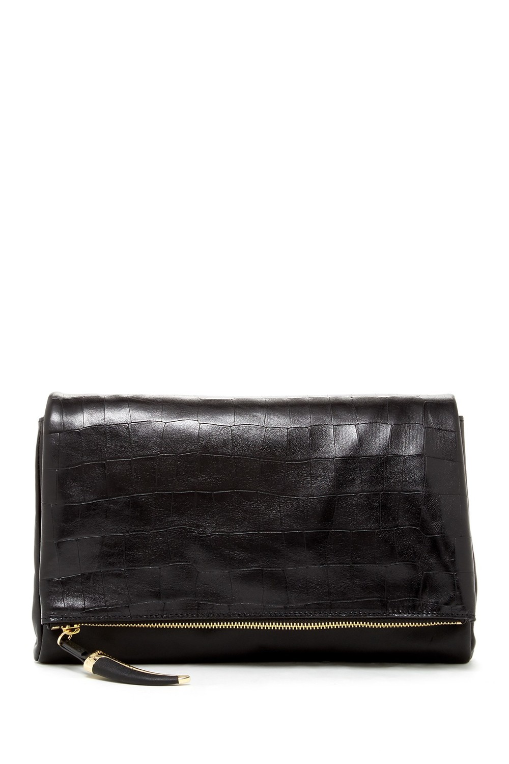 Vince Camuto Cal Flap Oversized Clutch. Nordstrom Rack. Was: $228 Now: $119.