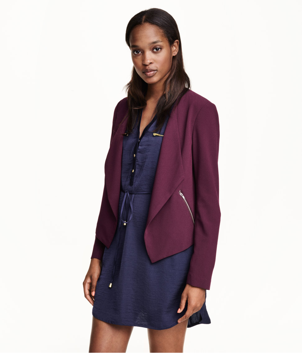 Crepe Jacket. H&M. Was: $24 Now: $14.