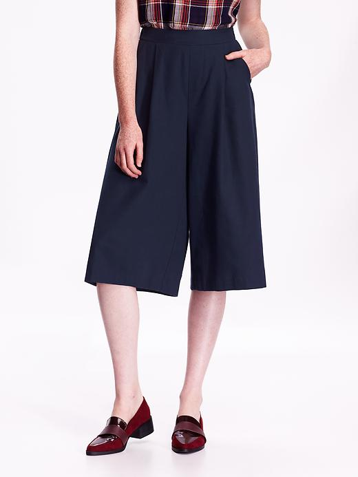 High Rise Pleated Culottes. Old Navy. Was: $34 Now: $19.