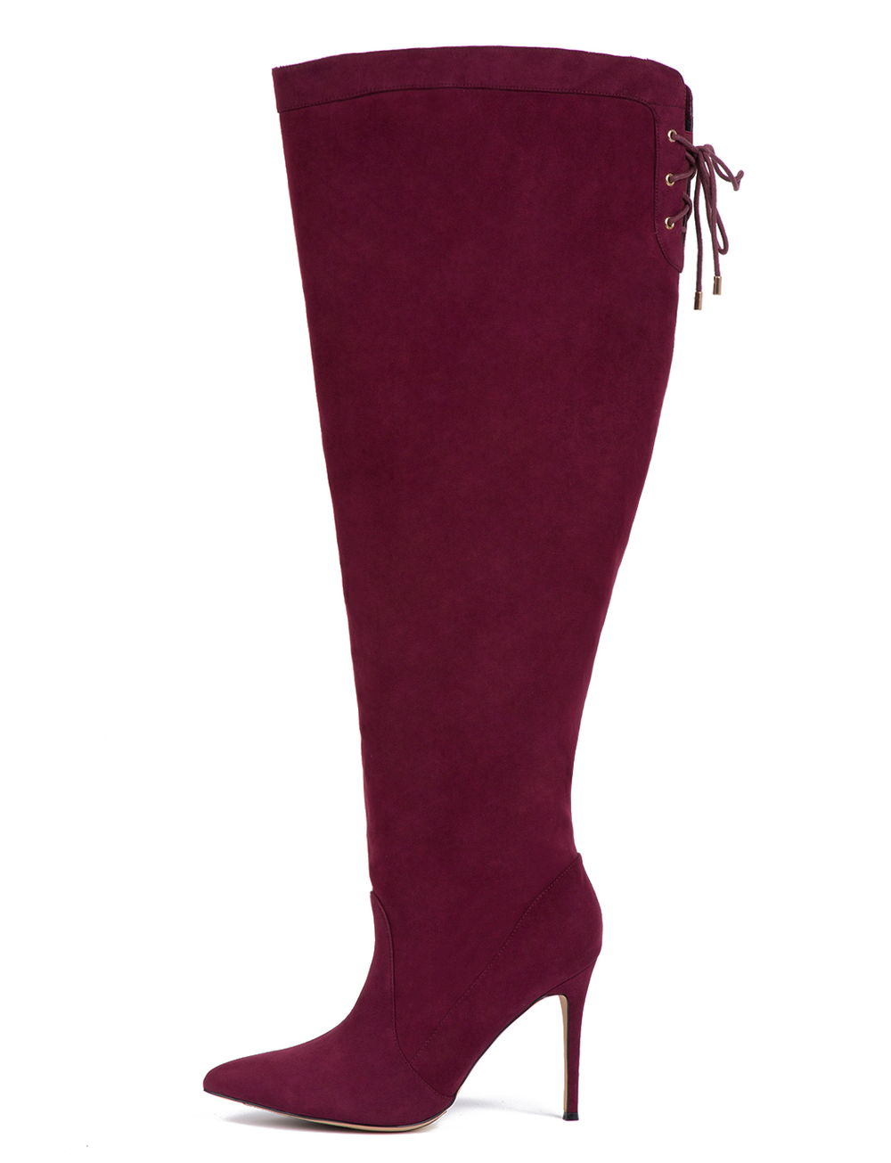 Luella Over-The-Knee-Boot. Eloquii.com. Also comes in Black. $149.90