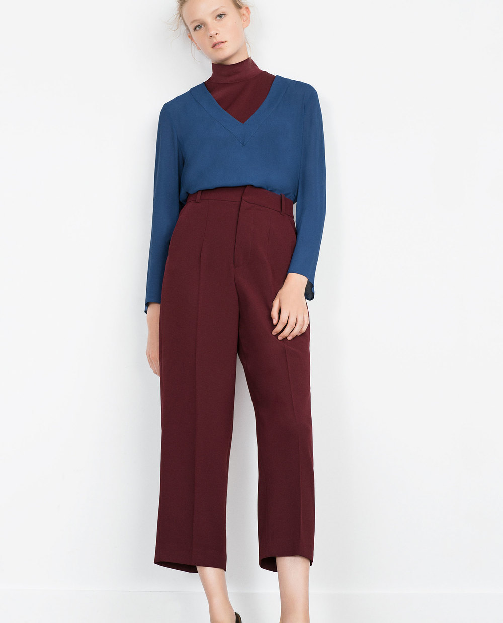 High Waist Trousers. Zara. $69.