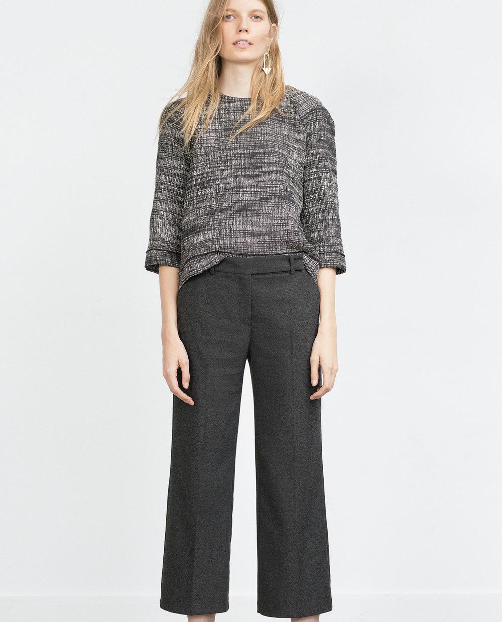 Culottes. Zara. $49.