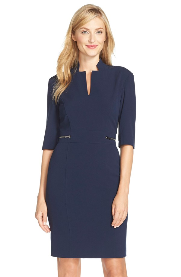 Tahari Bi Stretch Sheath Dress. Nordstrom. $128.