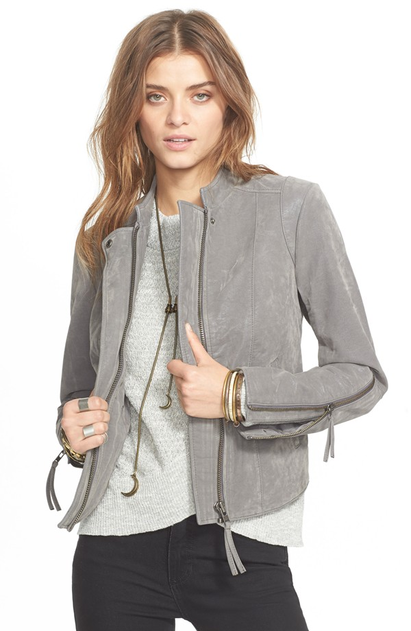 Free People Faux Leather Jacket. Nordstrom. $198.