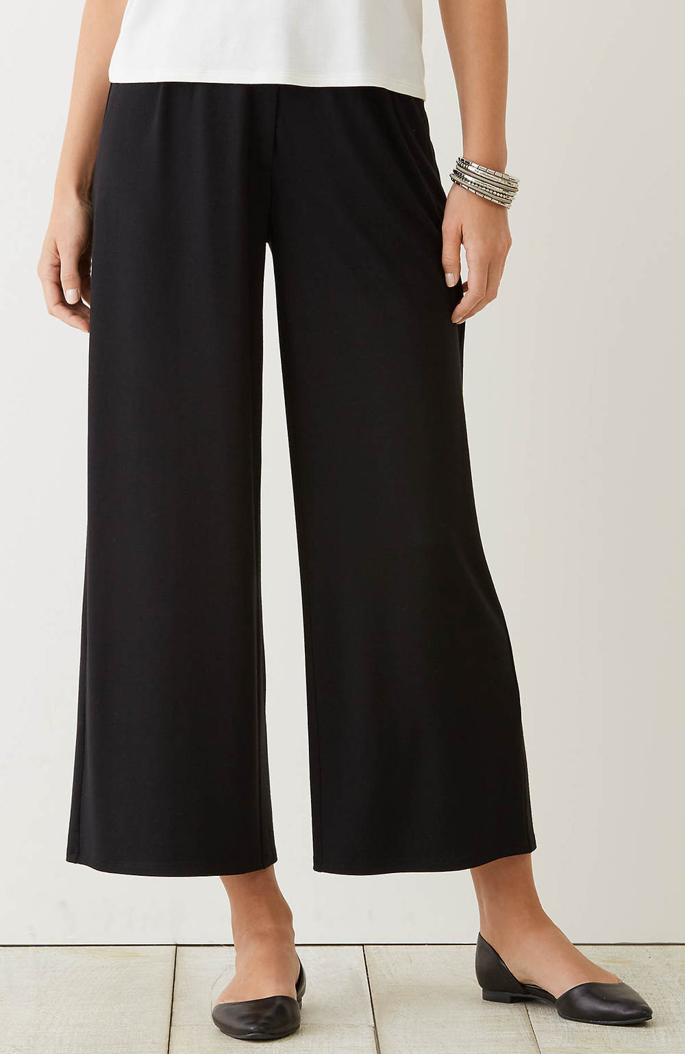 Wherever (Wrinkle Free!) Pleated Crop Trousers. J.Jill. Was: $89 Now: $59.