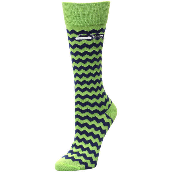 For Bare Feet Seattle Seahawks Chevron Socks. Seahawks Pro Shop. $10.
