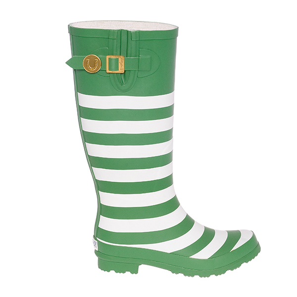 Kelly Green & White Rainboots. LillyBee. $84.