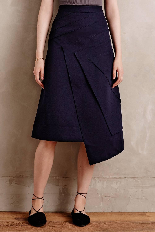 Origami Wrap Skirt. Anthropologie. $250.