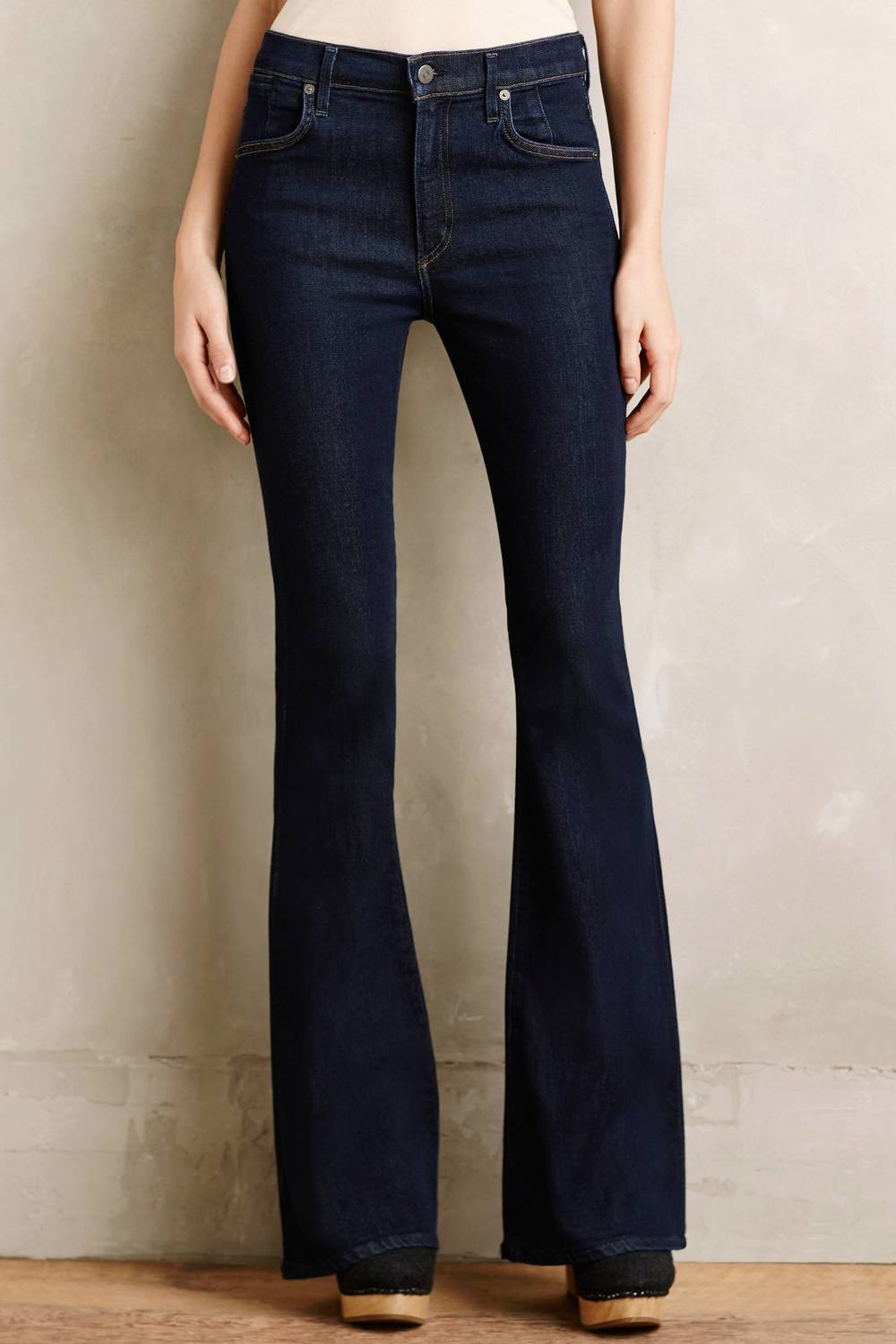 Petite Citizens of Humanity Fleetwood High Rise Flare Jeans. Anthropolgie. $228.