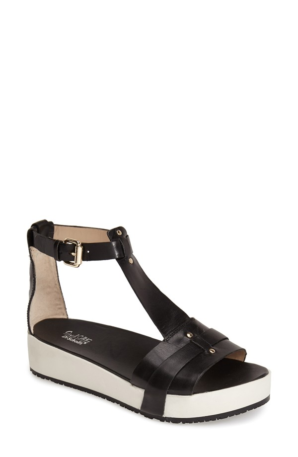Dr. Scholl's Original Collection Fraser Platform Sandal. Available in black, brown. Nordstrom. $87.