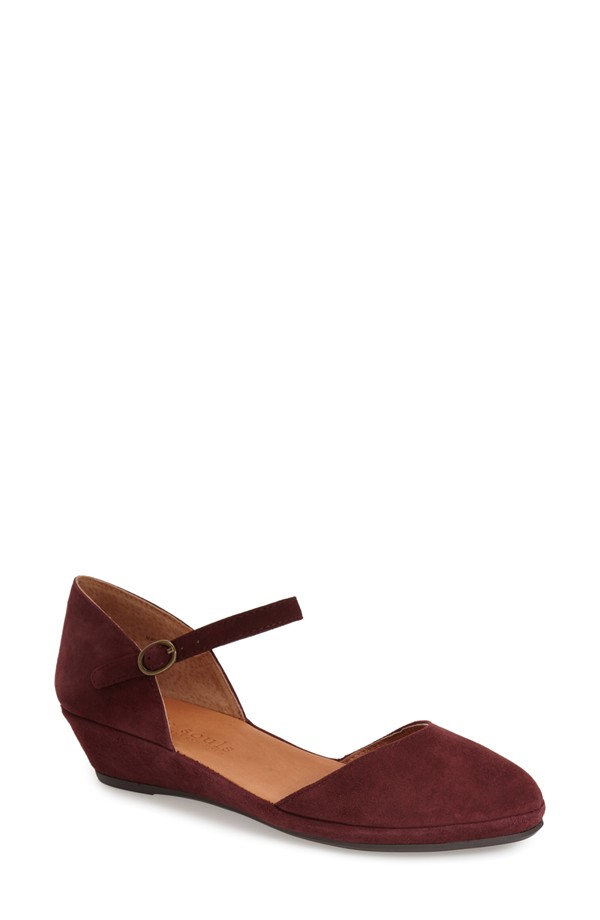 Gentle Souls Noa Star Leather Quarter Strap Wedge. Nordstrom. $209.