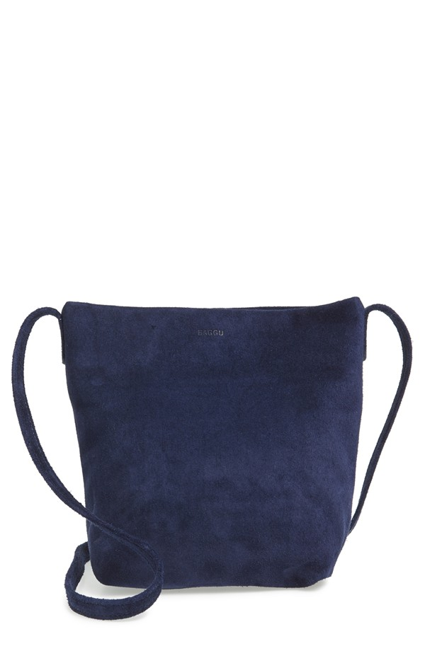 Baggu Leather Crossbody. Available in lots of glorious colors! Nordstrom. $120.