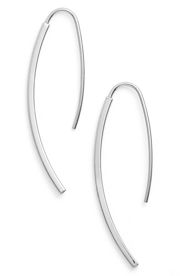 Argento Vivo Curved Drop Earrings. Available in silver, gold.Nordstrom. $48.