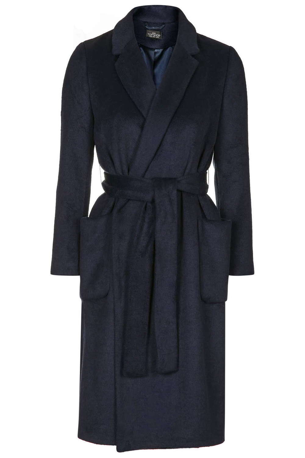 Petite Belted Wool Blend Coat. Topshop. $170.