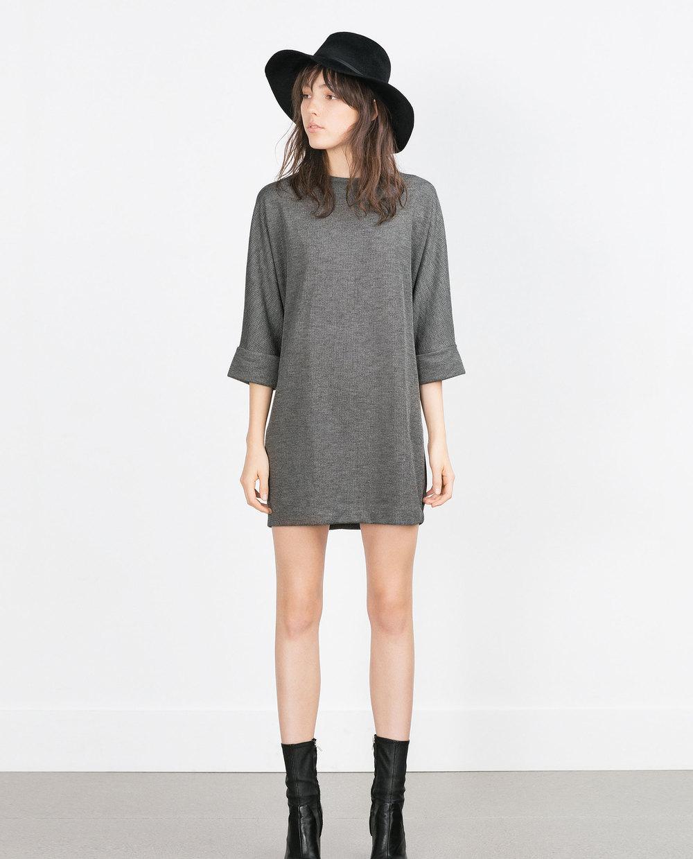 Combined Ponte Di Roma Dress. Zara. $39.