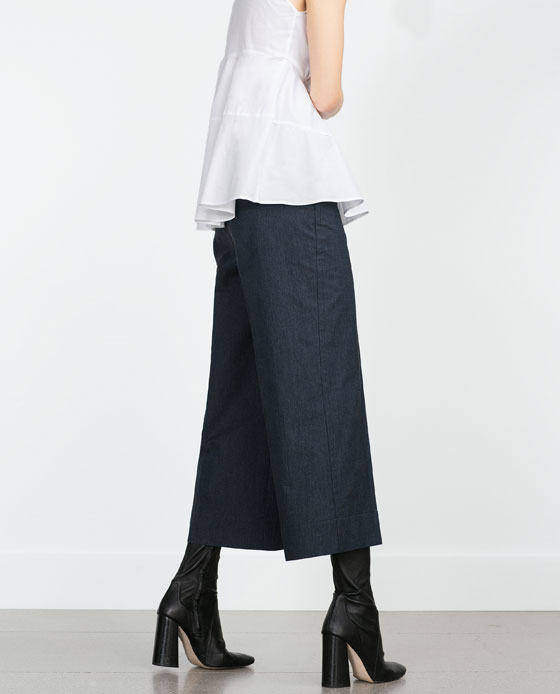 Cropped Trousers. Zara. $69.