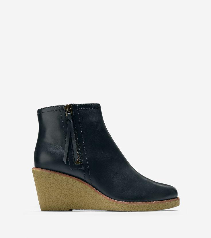 Auden Short Waterproof Boot. Available in black, brown. Cole Haan. $278.
