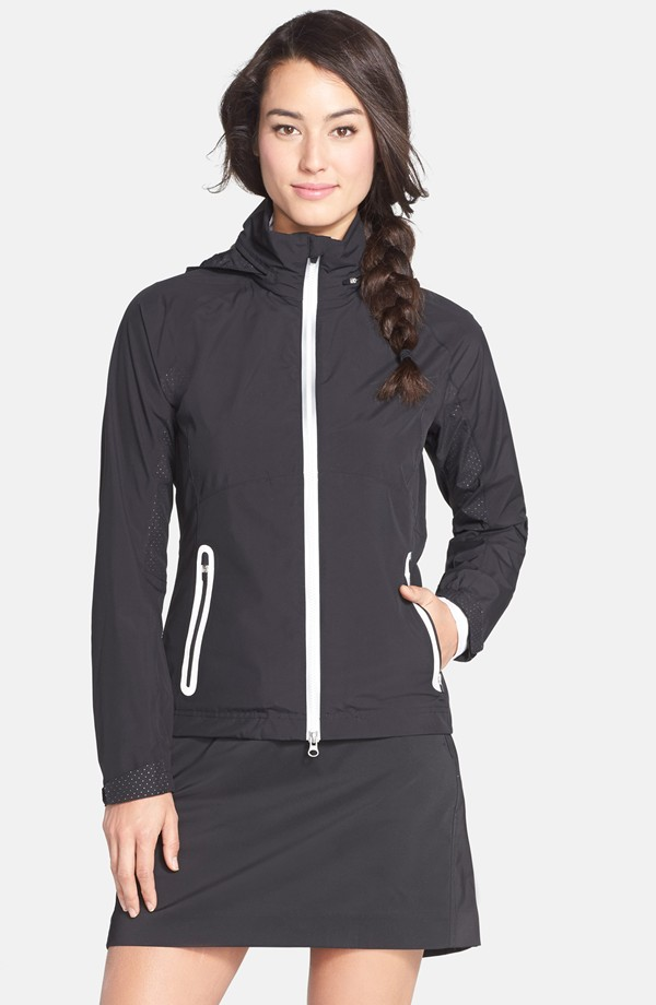 Zero Restriction Olivia Hooded Rain Jacket. Nordstrom. $219.
