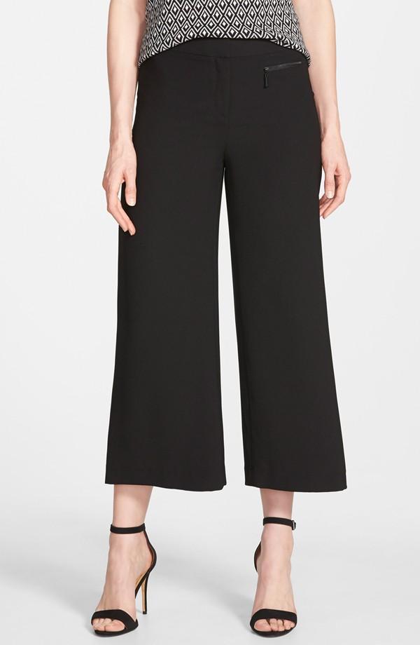 Vince Camuto Zip Pocket Culottes. Nordstrom Exclusive. $89.