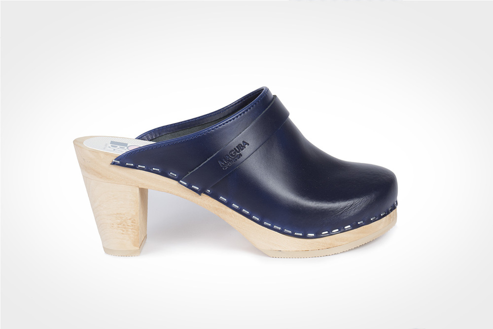 Stockholm Clogs Dark Blue. Maguba. Was: $149 Now: $119.