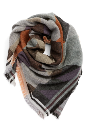 BP Colorblock Blanket Scarf. Nordstrom. $30.00
