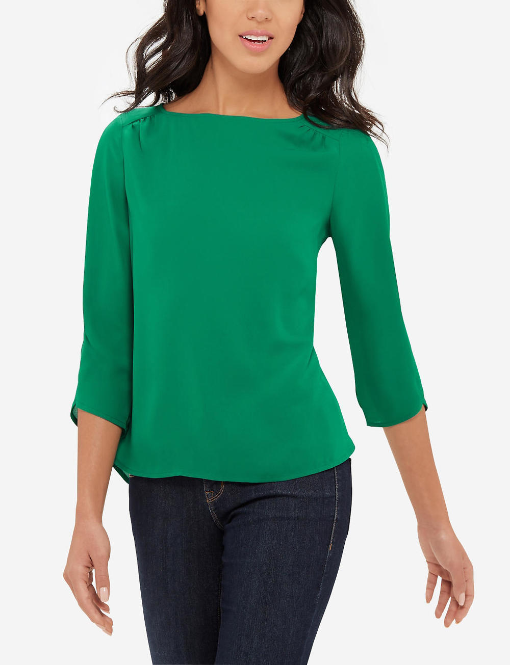 Boatneck Blouse. Available in multiple colors. The Limited. Was: $49 Now: $24.