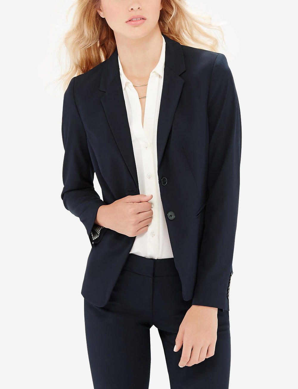Collection 2 button jacket. Available in multiple colors. (I like navy!). The Limited. Was: $169 Now: $84.