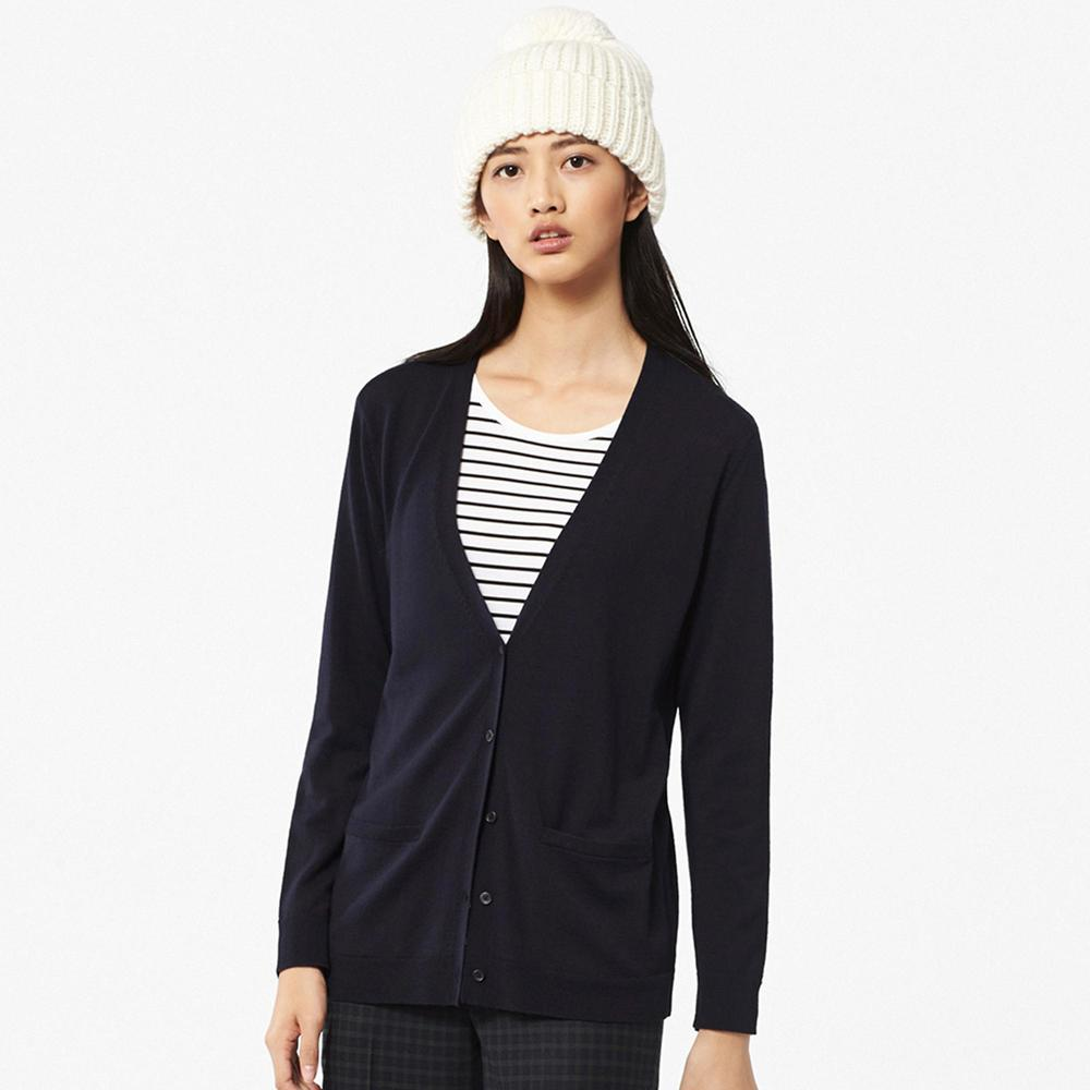 Extra Fine Merino Wool Cardigan. Available in multiple colors. Uniqlo. $29.