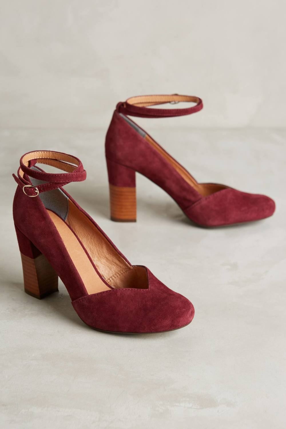 Lien Do Pajaro Heels. Available in multiple colors. Anthropologie. $158.