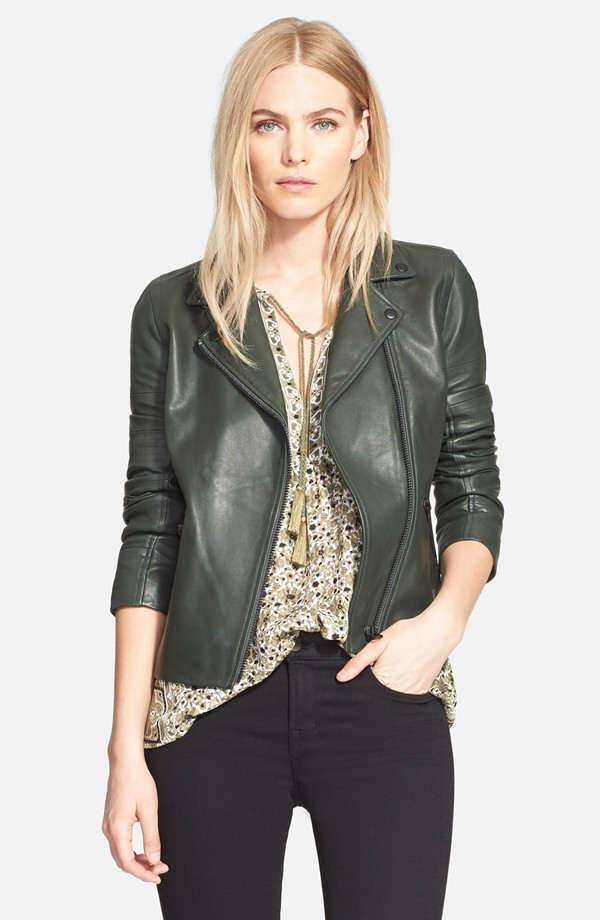 Truth & Pride Luna Leather Jacket. Nordstrom. Was: $749 Now: $299.