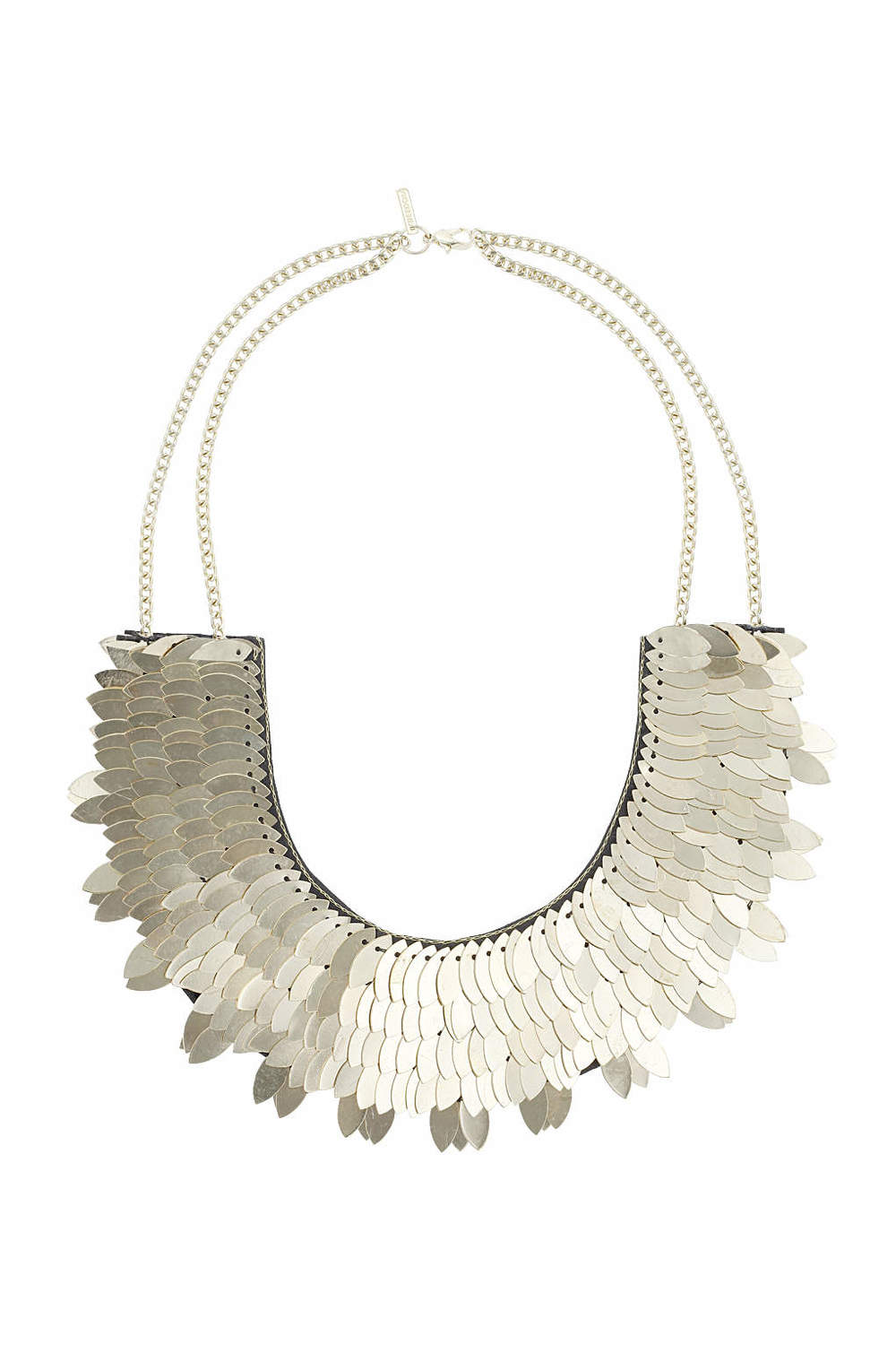 Statement Leaf Necklace. Topshop. $40.