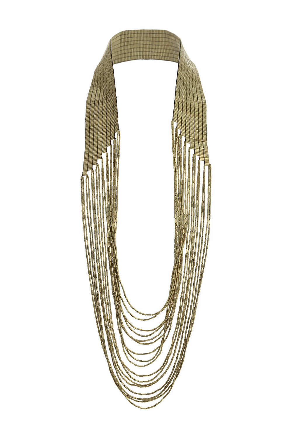 Beaded Multirow Drape Necklace. Topshop. $55.