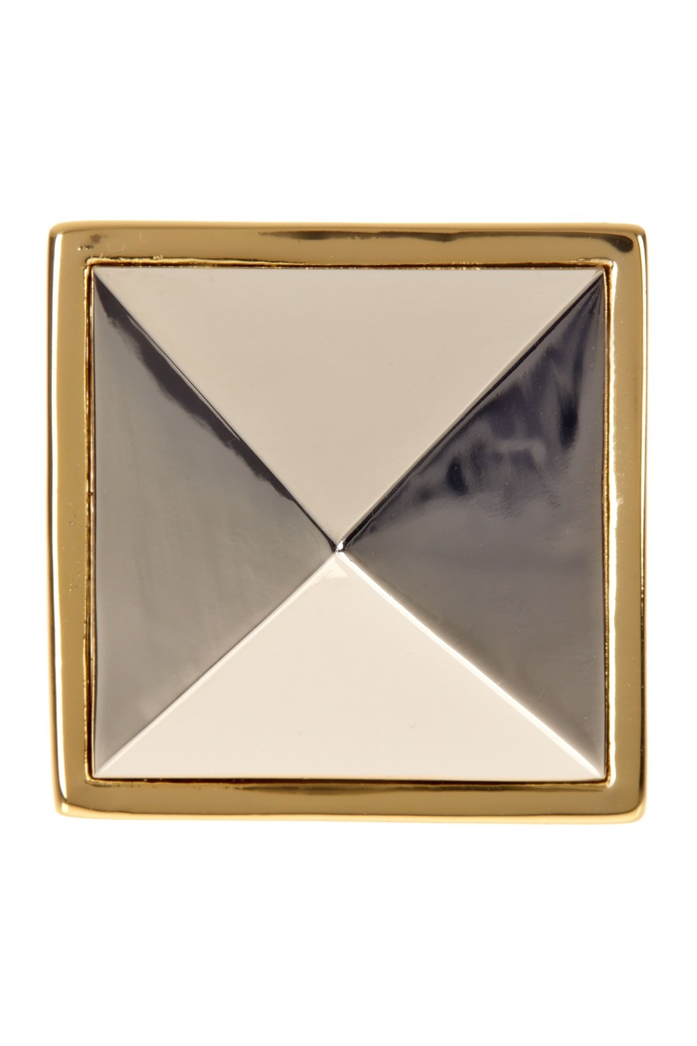 Trina Turk Pyramid Stud Stone Ring. Nordstrom Rack. Was: $88 Now: $24.