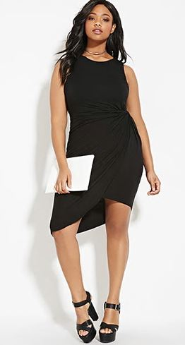 Faux wrap Dress. Forever 21+. $22.90