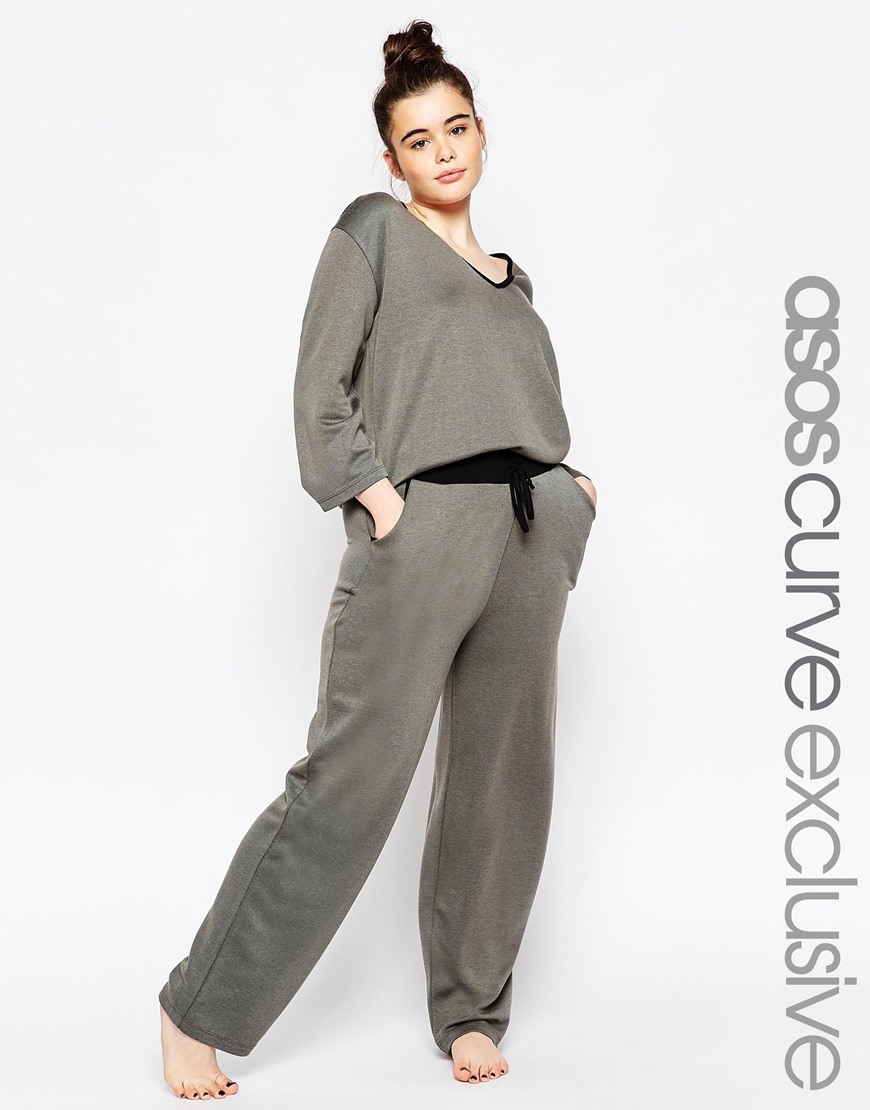 Wide Leg Lounge Pant. ASOS CURVE. $39.41. Top $35.83