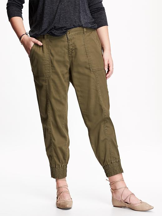 Twill utility Joggers. Old Navy. $39.94. Also comes in Navy and Orange