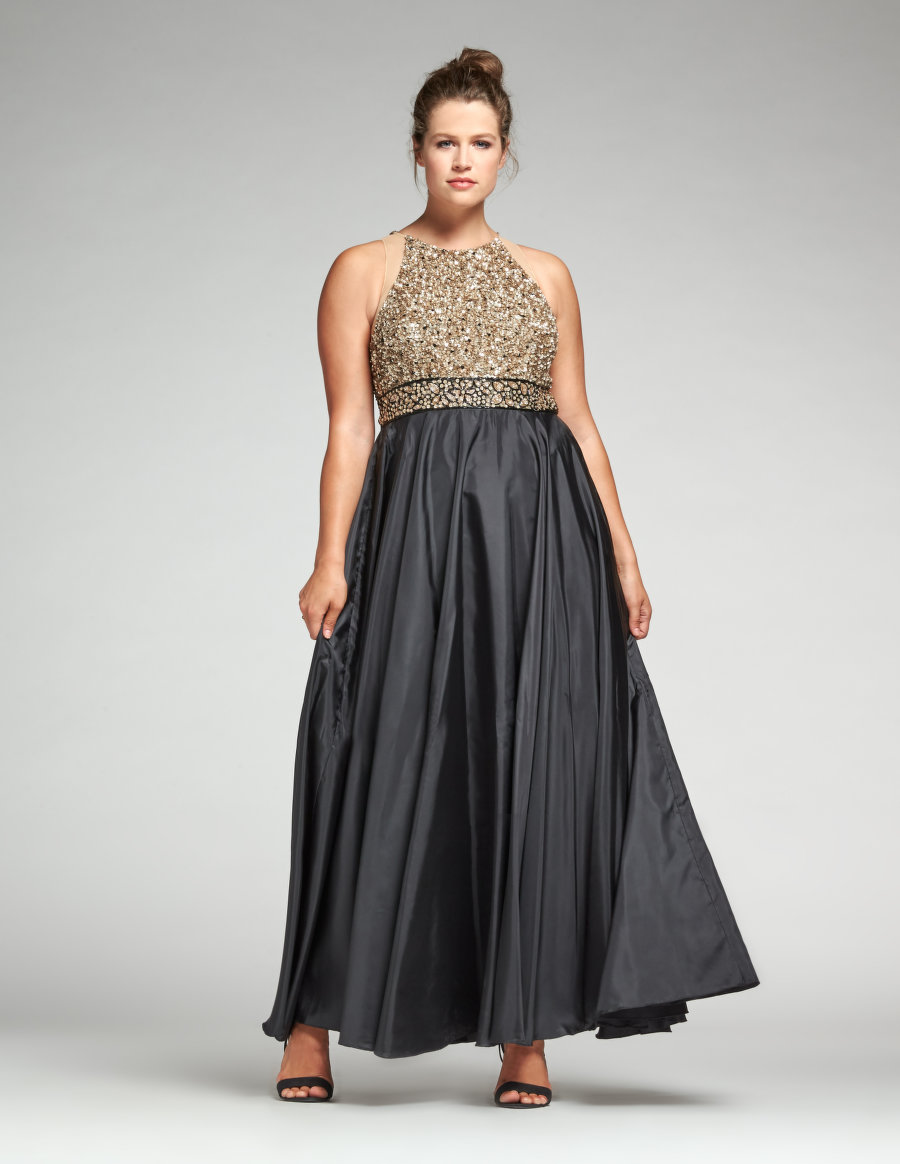 Ariella Sequined Evening Gown. Navabi. $504.90