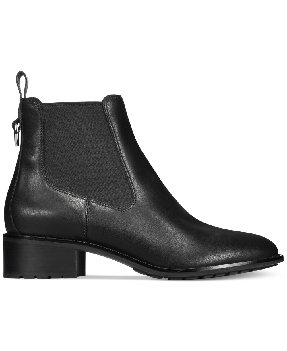 Newburg Waterproof Bootie. Available in black, brown. Cole Haan. $268.