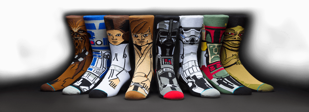 Stance Socks. Available in multiple designs for adults and kids. Stance. $16-20.